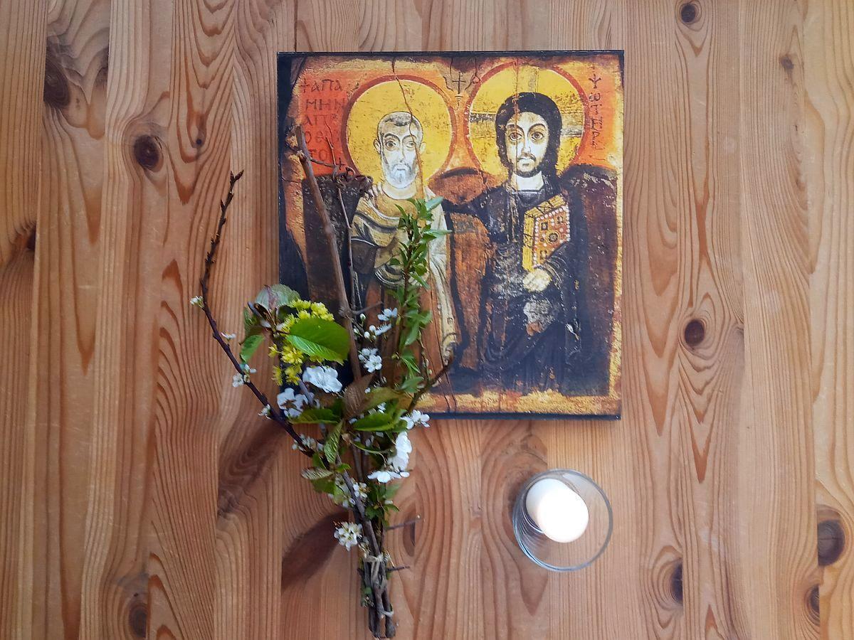 Menas und Jesus